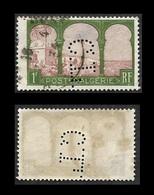 ALGERIE  1926   -  Y&T  53 -  Vue Prise De Mustapha - Perforé CL - Algérie (1924-1962)