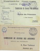 Ardennes       Prisonnier - Storia Postale