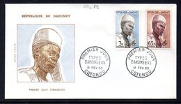 """Benin Dahomey 180 Et 189 Fdc Agriculteur , Houe , """"daba"""" - Agriculture"""