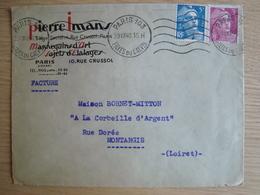 ENVELOPPE PIERRE IMANS MANNEQUINS D'ART PARIS - 1921-1960: Modern Tijdperk