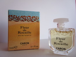 CARON - FLEUR DE ROCAILLE   - EDT - 3 ML - Miniature - Miniatures Femmes (avec Boite)