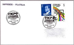 Matasellos EXPO CONSUMO. Bilbao, Vizcaya, 1987 - 1931-Hoy: 2ª República - ... Juan Carlos I