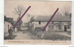 """Dt 80 SAINT AUBIN MONTENOY """" Villa Du Rucher"""" Rue Neuve Des Sourillons- Presbytères(animation) - Francia"""