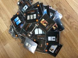 LOT SUPPORT PUBLICITAIRE : La Mobicarte Collector D'Orange, France Telecom, Recharge 70 - Per Cellulari (ricariche)