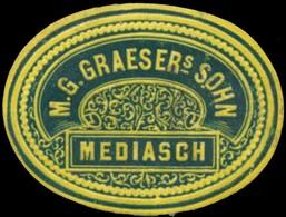 Mediasch: M.G. Graesers Sohn Reklamemarke - Erinofilia
