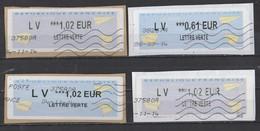 2014   LV  *** Différentes Valeurs - 2000 «Avions En Papier»