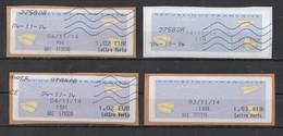 2014   Lettre Verte   Différentes Valeurs - 2000 «Avions En Papier»