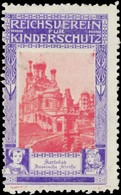 Russische Kirche In Karlsbad Reklamemarke - Cinderellas