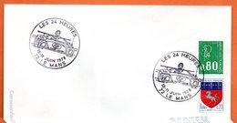 72 LE MANS  LES 24 HEURES   1978  Lettre Entière N° BC 603 - Marcophilie (Lettres)