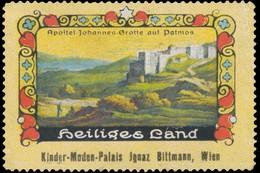 Wien: Apostel Johannes Grotte Auf Patmos Reklamemarke - Vignetten (Erinnophilie)