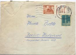 C2147-Germany/Berlin-Local Cover With 4pf Se-tenant From Booklet Pane-19?? - Berlin (West)