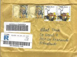 "Montenegro 2010 Niksic Fresco Prophet Elias Bread And Wine Painter Miodrag ""Dado"" Djuric Registered Cover - Montenegro"