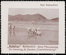 Charlottenburg: San Sebastian Reklamemarke - Erinnofilie