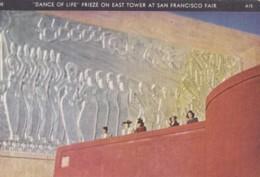 AR80 Golden Gate International Exposition, Dance Of Life Frieze - Exhibitions