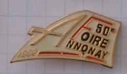 50 Eme Foire D'Annonay - 1992 - Città