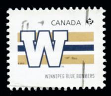 Canada (Scott No.2558e - Club De La / CFL / Teams) (o) Du Feuillet / From SS - 1952-.... Règne D'Elizabeth II