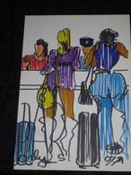 MENU AIR FRANCE DE FLORENT MARGARITIS-ORLY S.-N°15- - Menus