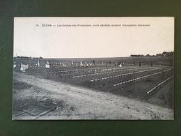 SEDAN- Les Tombes Des Prisonniers Civils Décédés Pendant L'occupation Allemande - Sedan