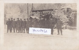 Foto Bahnhof Schema Schemo Litauen Lettland Kurland Eisenbahn Deutsche Soldaten Ww1 1.Weltkrieg - War, Military