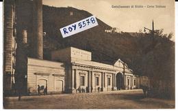 Campania-castellammare Di Stabia Terme Stabiane Veduta Ingresso Terme Acque Minerali Animata (f.piccolo) - Castellammare Di Stabia