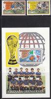 Soccer World Cup 1982 - Football - GRENADINES - S/S+Set MNH - Copa Mundial