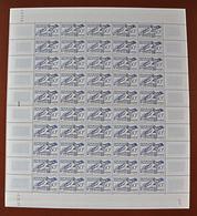 Feuille Complète De 50 Timbres FRANCE 1953 N°962  (JEUX OLYMPIQUES D'HELSINKI 1952. ESCRIME. 30F) - Feuilles Complètes