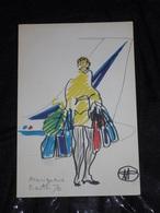 MENU AIR FRANCE DE FLORENT MARGARITIS-ORLY -N°5- - Menus