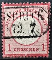 DEUTSCHES REICH 1872 - Canceled - Mi 4 - Kleines Brustschild 1g - Gebraucht