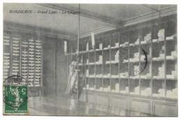 33-BORDEAUX-Grand Lycée - La Lingerie...1908  Animé - Bordeaux