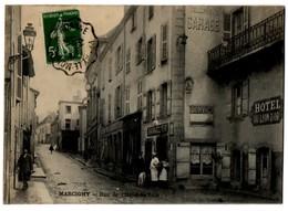 MARCIGNY - Rue De L'Hôtel De Ville - Autres Communes