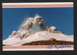 Mount RUAPEHU , Central Plateau, NEW ZEALAND This Spectaculaire Irruption En Septembre 1995 - Volcan En Irruption - Nouvelle-Zélande