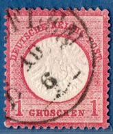 Salzuflen 10 6 Einkreis Auf 1 Gr Grosses Brustschild 1872, Germany 1812.3033 - Oblitérés