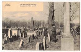 Metz- Der Alte Jüdische Friedhof-Nels-Série 104 No 294 - Metz