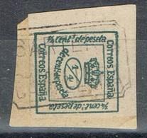 Sello 1 Cuartillo Carteria Oficial Tipo I De CAMALLERA (Gerona), Num 173 º - 1875-1882 Königreich: Alphonse XII.