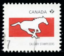 Canada (Scott No.2558c - Club De La / CFL / Teams) (o) Du Feuillet / From SS - 1952-.... Règne D'Elizabeth II