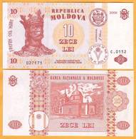 2009 Moldova ; Moldavie ; Moldau    10 LEI   027171 UNC - Moldavia