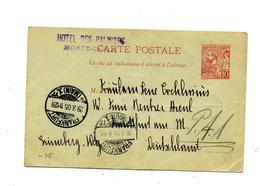 Carte Postale 10 Prince Cachet  Frankfurt - Ganzsachen