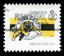 Canada (Scott No.2558f - Club De La / CFL / Teams) (o) Du Feuillet / From SS - 1952-.... Règne D'Elizabeth II