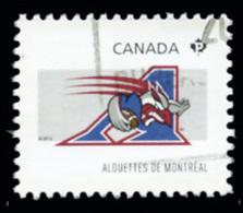 Canada (Scott No.2558h - Club De La / CFL / Teams) (o) Du Feuillet / From SS - 1952-.... Règne D'Elizabeth II