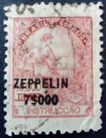 Bresil Brasil 1932 Instruction Instruccao Surchargé Overprinted ZEPPELIN Yvert PA30 O Used - Brazil
