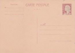 ENTIER DECARIS 25C -1263-CP1 VIERGE     TDA34 - Cartes Postales Types Et TSC (avant 1995)