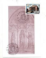 Carte Maximum 2001 Cosenza Anniversaire D'aragona - Marcofilia - EMA ( Maquina De Huellas A Franquear)