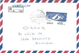 Spain 1999 Sabinillas EXPO '98 Lisboa EMA Label Cover - Marcofilia - EMA ( Maquina De Huellas A Franquear)