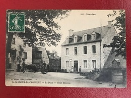 ST PARDOUX LA CROISILLE : La Place - Hôtel BOUYSSE - Autres Communes