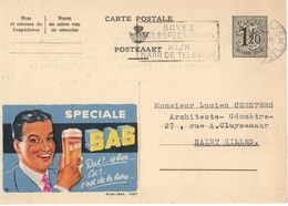 Publibel - 1337 -SPECIALE SAS - BRUXELLES - BRUSSEL - UCCLE . - Publibels