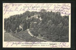 AK Nordhausen A. H., Gasthaus Schnabelsburg Am Hohnstein - Nordhausen
