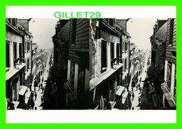 QUÉBEC - RUE CHAMPLAIN VERS 1870, VUE STÉRÉOSCOPIQUE, LOUIS-PRUDENT VALLÉE - LES ÉDITIONS OVO - - Québec - La Cité