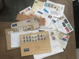 Lot D'enveloppes Timbrées - Stamps