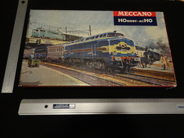 """Meccano - Train De Voyageurs ''LE VENDÉEN"""" - HOrnby-acHO 6150 - Locomotive 060 DB-5 + 2 Voitures Voyageur _ Jouet Ancien - Voitures Voyageurs"""