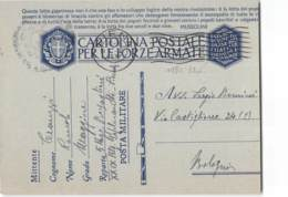 AG1662 03  FRANCHIGIA  - 5 REGGIEMNTO BERSAGLIERI - SIENA   X BOLOGNA - 1900-44 Vittorio Emanuele III
